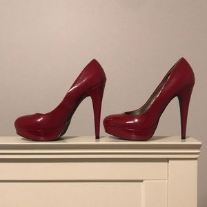 Red Guess Heels
